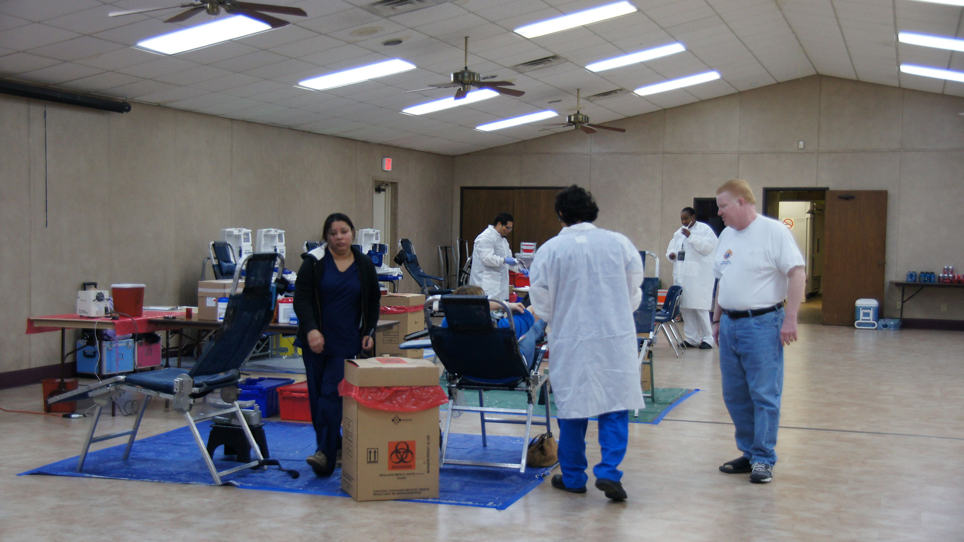 Blood Drive Jan 20, 2013