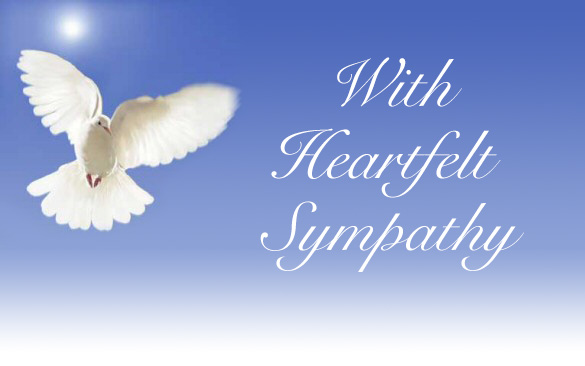 Image result for condolence doves