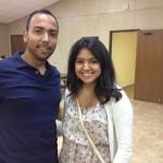 Jesus Zamora and sister Luz Perez