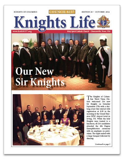 knights-life-newsletter-edition-20-oct-2014-thumb