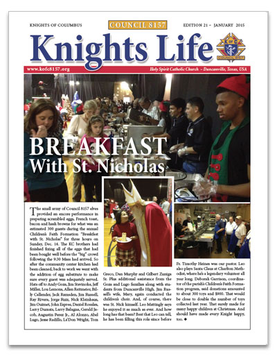 knights-life-newsletter-edition-21-jan-2015-thumb