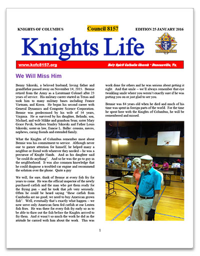 knights-life-newsletter-edition-25-jan-2016-thumb