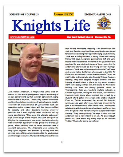 knights-life-newsletter-edition-26-apr-2016-thumb