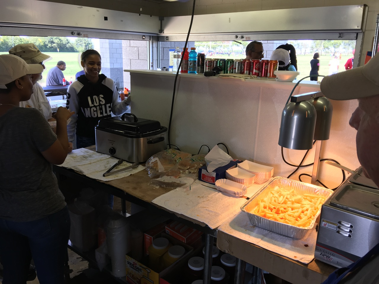 Football Concession Running Steady Duncanville Texas