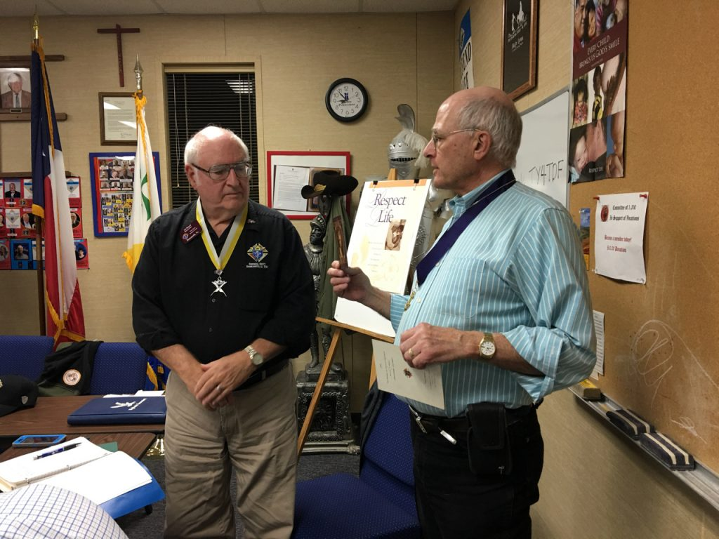 Jim Russell receives Let Your Light Shine recognition