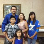 The Torreblanca Family: Alberto and Marlene, with their 3 children Lissette (16), Eric (11) and Sofia (7)