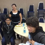 Gloria Ramos and her 2 boys