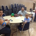 The Hernandez family. Darlene and Miguel with their boys David (4) and Benjamin (2.5).
