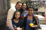 Elvis and Thelma Fajardo and daughters