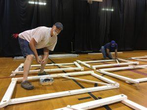 Keith Archer - Gym Set Up 2018