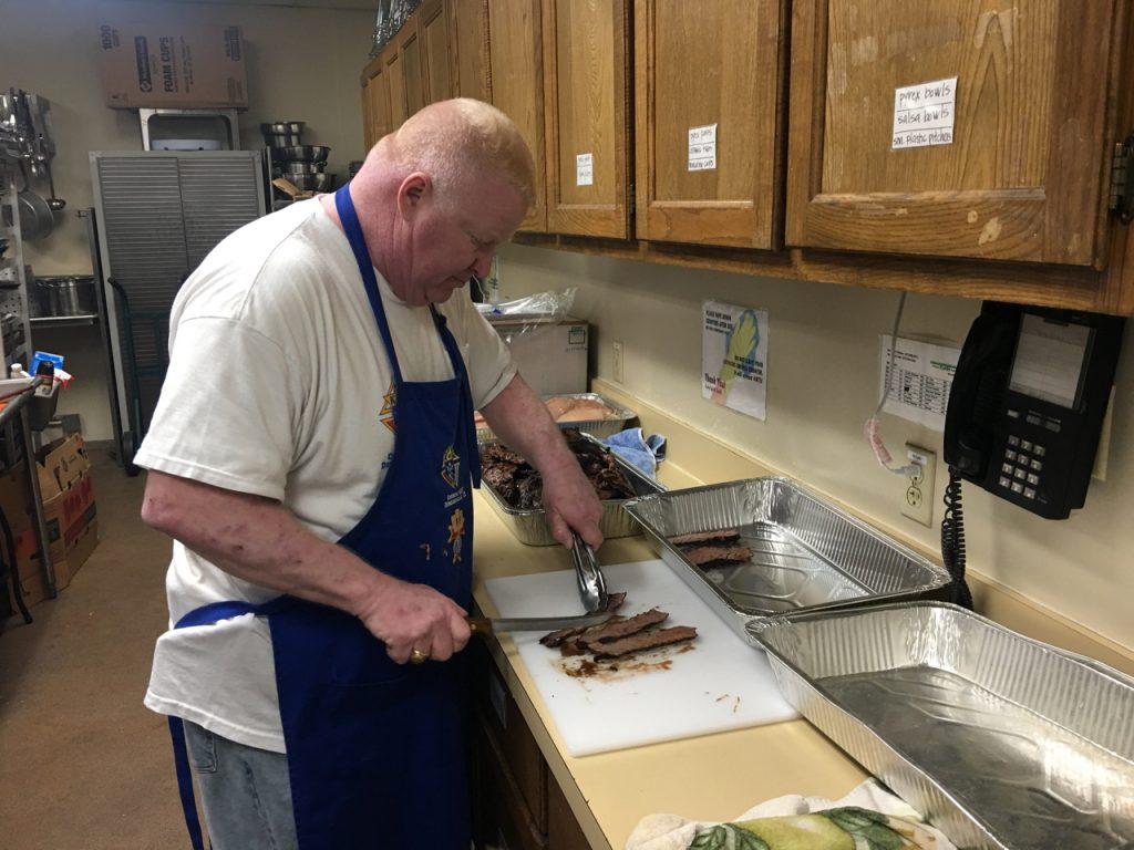 Andy Goza slicing